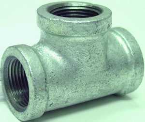 JMF Company 3746008080886 Tee 1/2 Gal vanized