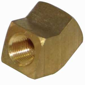 JMF Company LF3929006069813 3/8 Fip X 3/8 Fip Barstock 45 Elbow