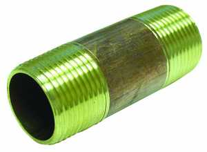 JMF Company 6618702489813 1/8 X CLOSE BRASS NIPPLE