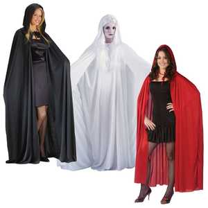 Fun World 9159 68 in Hooded Cape Assortment