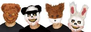 Fun World 93307 Killer Bear Mask Assortment