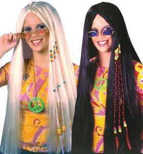 Fun World 8592 33 in Braided Hippie Wig