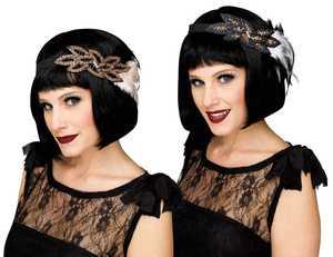 Fun World 90517 Deluxe Flapper Headband Assortment