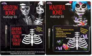 Fun World 5659 Bones Makeup Kit Assortment