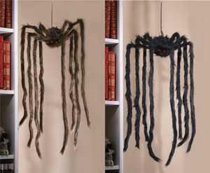 Fun World 91283 3 ft Hanging Spider