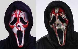 Fun World 8930 Dripping Bleeding Ghost Face Mask