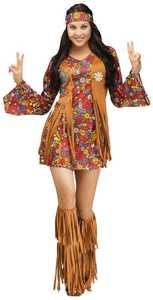 Fun World 123454 Peace & Love Hippie