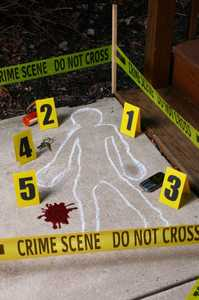 Fun World 91305 Crime Scene Kit
