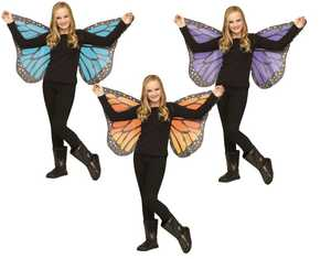 Fun World 90562 Soft Butterfly Wings - Child