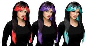 Fun World 92251 80 ft s Street Rocker Wig Assortment