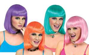 Fun World 92588 Sherbert Page Wig Assortment