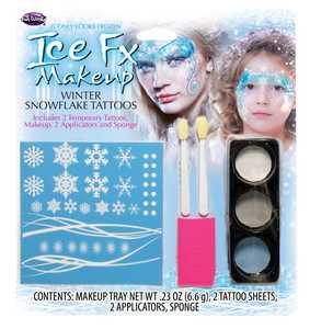 Fun World 5207 Winter Snowflake Makeup Kit