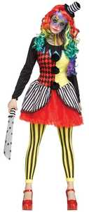 Fun World 115434 Freak Show Clown