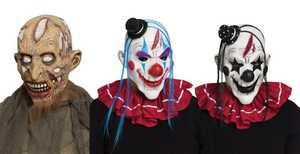 Fun World 93250 Horror Clown Zombie Assortment