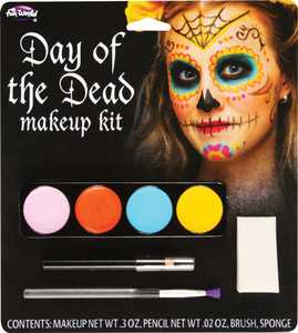 Fun World 5618 Makeup Day of the Dead Sugar Skull