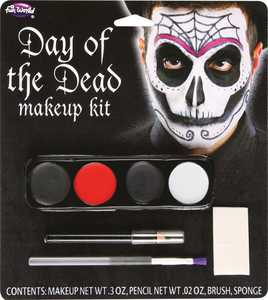 Fun World 5618 Makeup Day of the Dead Male Spider