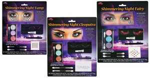 Fun World 5604 Shimmering Night Makeup Kit Assortment