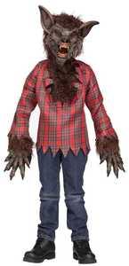 Fun World 5813 Werewolf Child Brown