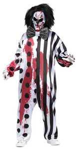 Fun World 131634 Bleeding Mask Clown