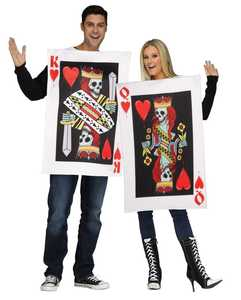 Fun World 131814 King and Queen of Hearts