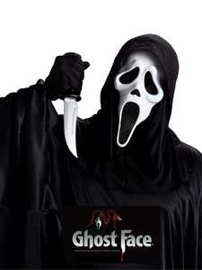 Fun World 93228 Ghost Face with Knife