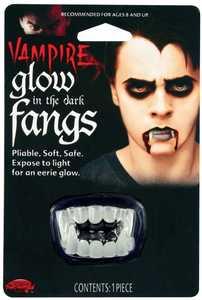 Fun World 9325 Glow-in-the-Dark Fangs