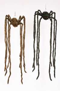 Fun World 91284 4 ft Hanging Spider
