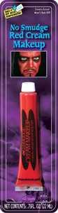 Fun World 9469 No Smudge Cream Makeup Red