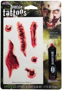 Fun World 9625 Bloody Super Toos Makeup Kit Zombie