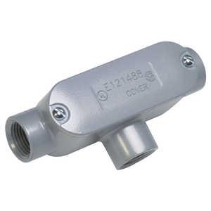 Sigma Electric/Gampak 02-55641T 1/2-Inch T Type Conduit Body Assembled