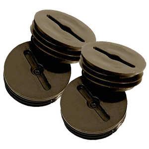 Sigma Electric/Gampak 14005BR 1/2-Inch Bronze Closure Plugs