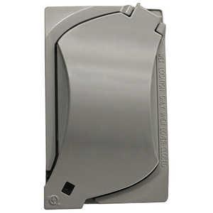 Sigma Electric/Gampak 14147 1-Gang Gray Universal Cover