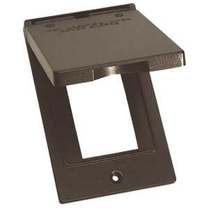 Sigma Electric/Gampak 14248BR 1-Gang Bronze Vertical GFCI Cover