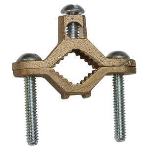 Sigma Electric/Gampak 41309 1/2-Inch - 1-Inch Bronze Grounding Clamp