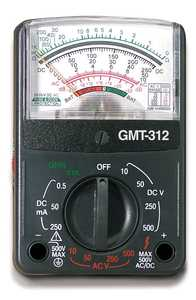 Gardner Bender GMT-312 Multimeter Analog 12range 5 Function