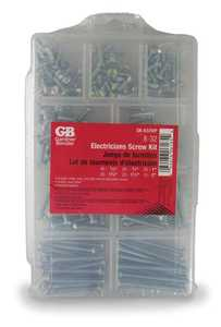 Gardner Bender SK-832WP Electricians Screw Kit 8/32