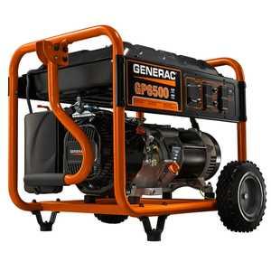 Generac Power Systems 5940 6500-Watt Portable Generator