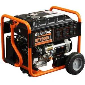 Generac Power Systems 5943 7500w Portable Generator