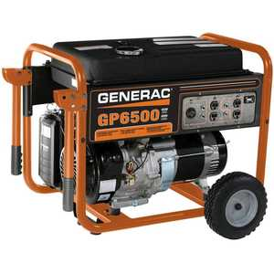 Generac Power Systems 5623-0 6500w Portable Generator