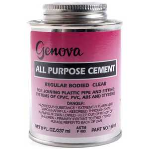 Genova 15010 All Purpose Cement 1/4 Pt