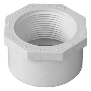 Genova 34221R PVC Reducing Bushing 90&deg Fip 2 x 1-1/2 Schedule 40