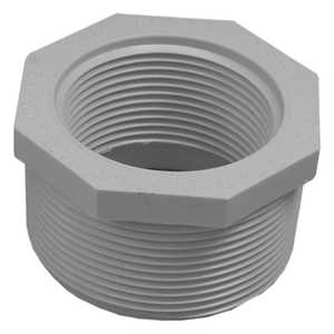 Genova 34321 Pvc Reducing Bushing Mip 2 x 1-1/2 Schedule 40