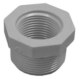 Genova 34340 Pvc Reducing Bushing Mip 1-1/4 x 1 Schedule 40