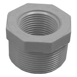 Genova 34350 Pvc Reducing Bushing Mip 1-1/2 x 1 Schedule 40