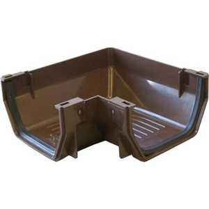 Genova RB103 Raingo Corner Gutter Brown