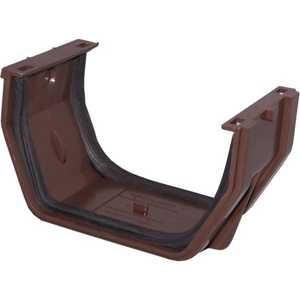 Genova RB105 Raingo Slip Joint Gutter Brown