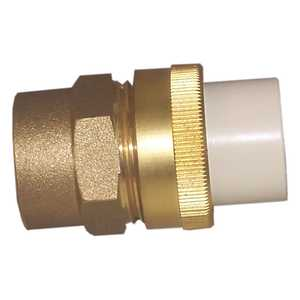 Genova 53375 Union 3/4 Cpvc Slip X Brass Fip