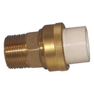 Genova 53376 Union 3/4 Cpvc Slip X Brass Mip