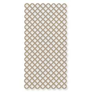 Genova LA100 Vinyl Lattice Panel 4x8 Tan