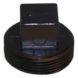 Genova 81840 Threaded Plug Mpt 4-inch Abs